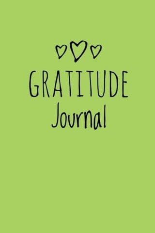 Gratitude Journal: Personalized Gratitude Journal, 102 Pages,6 X 9 (15.24 X 22.86 Cm),Durable Soft Cover,Book For Mindfulness Reflection Thanksgiving, Great Self Care Gift Or For Him Or Her (Green)