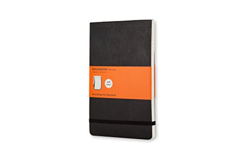 Moleskine Reporter Notebook, Pocket, Ruled, Black, Soft Cover (3.5 X 5.5) (Reporter Notebooks)