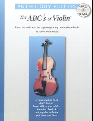 Abcs Of Violin: Anthology Edition (Book & 2 Dvds)