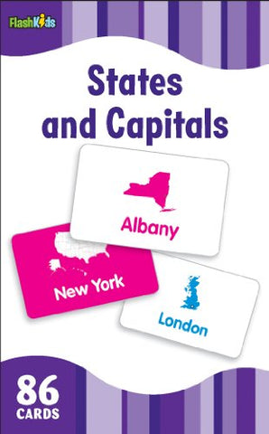 States And Capitals (Flash Kids Flash Cards)