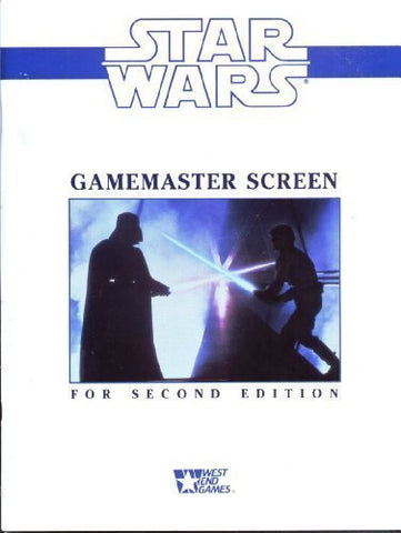 Star Wars: Gamemaster Screen For Second Edition