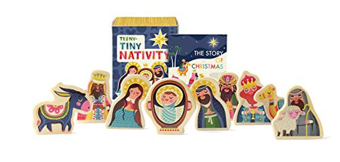 Teeny-Tiny Nativity (Miniature Editions)