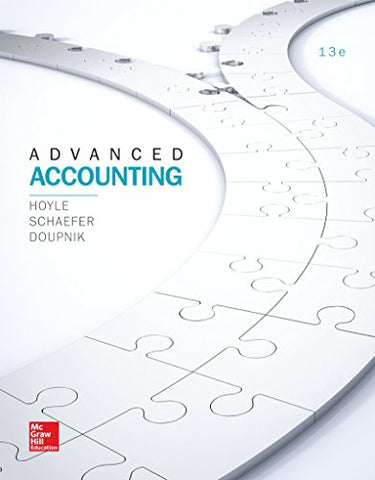 Looseleaf For Advanced Accounting (Irwin Accounting) - Standalone Book