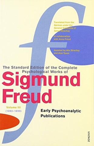 Complete Psycholgical Works Of Sigmund Freud, Vol. 3