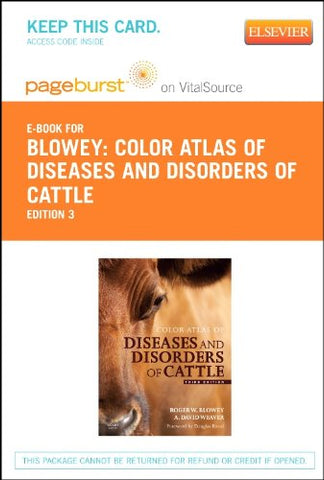 Color Atlas Of Diseases And Disorders Of Cattle - Elsevier Ebook On Vitalsource (Retail Access Card), 3E