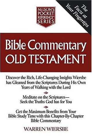 Bible Commentary Old Testament Nelson'S Pocket Reference Series