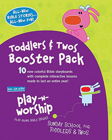 Play-N-Worship: Booster Pack For Toddlers & Twos