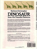 Dinosaur Iron-On Transfer Patterns (Dover Iron-On Transfer Patterns)