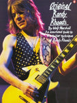 Original Randy Rhoads: An Annotated Guide To The Guitar Technique Of Randy Rhoads (Illustrated)
