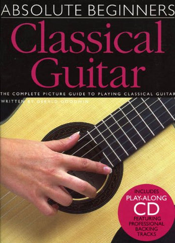 Absolute Beginners Classical Guitar W/Cd