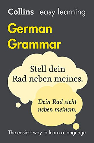 Collins Easy Learning German  Easy Learning German Grammar