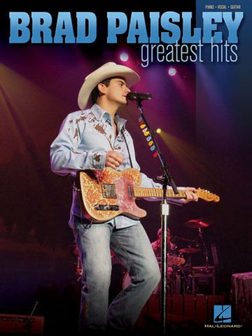 Brad Paisley - Greatest Hits (Piano/Vocal/Guitar Artist Songbook)