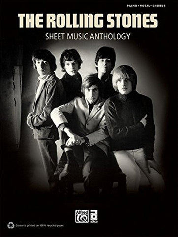 Rolling Stones - Sheet Music Anthology: Piano/Vocal/Chords