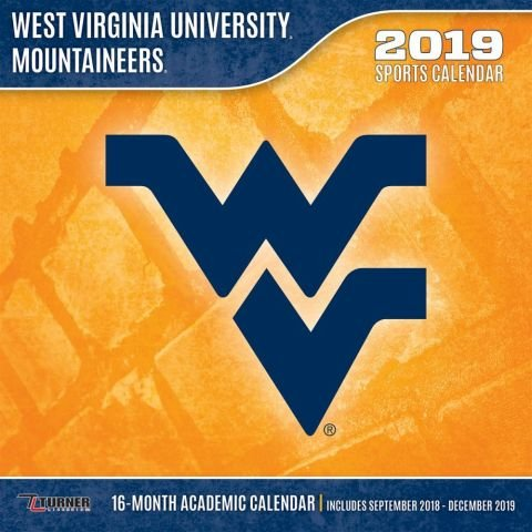West Virginia Mountaineers 2019 Calendar