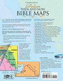 Deluxe Then And Now Bible Map Book With Cd-Rom