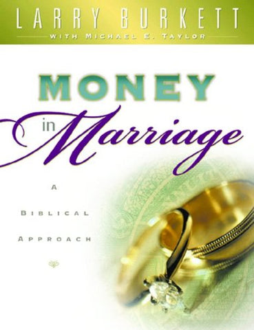 Money In Marriage Workbook (Christian Financial Concepts Resourceful Living Series)
