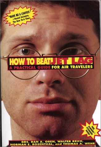 How To Beat Jet Lag: A Practical Guide For Air Travelers/Book And Eyemask And Eyeshades