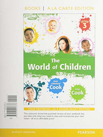 The World Of Children, Books A La Carte Edition (3Rd Edition)