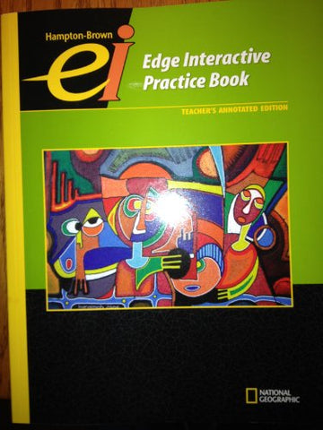 Hampton-Brown Edge Interactive Practice Book, Level C, Teacher'S Annotated Edition