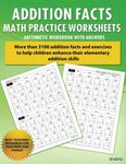 1: Addition Facts Math Practice Worksheet Arithmetic Workbook With Answers: Daily Practice Guide For Elementary Students (Elementary Addition Series) (Volume 1)