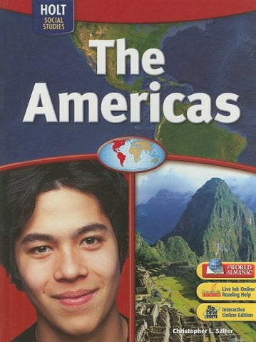 World Regions: Student Edition The Americas 2007