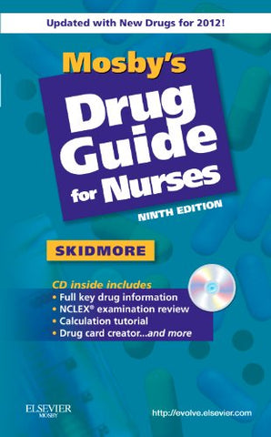 Mosby'S Drug Guide For Nurses, With 2012 Update, 9E