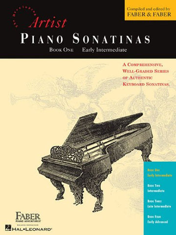 Piano Sonatinas - Book One: Developing Artist Original Keyboard Classics (The Developing Artist)