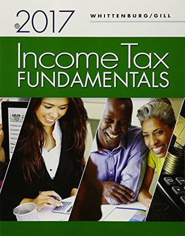 Bundle: Income Tax Fundamentals 2017, Loose-Leaf Version 35Th + H&R Block Premium & Business Access Code For Tax Filing Year 2016 + Cengagenowv2, 1 Term Printed Access Card
