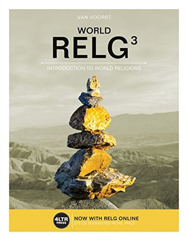 Relg: World (With Online, 1 Term (6 Months) Printed Access Card) (New, Engaging Titles From 4Ltr Press)