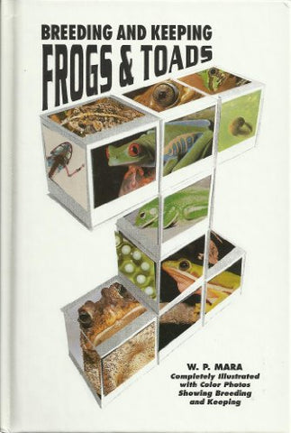 Breeding And Keeping Frogs And Toads (Lr-105)