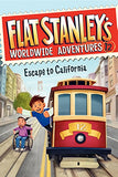 Escape To California (Turtleback School & Library Binding Edition) (Flat Stanley'S Worldwide Adventures)