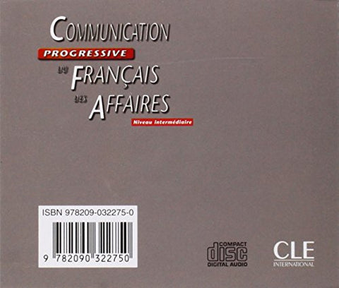 Communication Progressive Du Francais Des Affaires Audio Cd (French Edition)