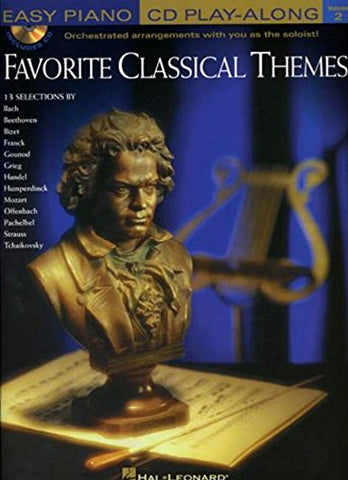 Favorite Classical Themes    Easy Piano Cd Play-Along     Volume 2 Bk/Cd (Easy Piano Cd Play-Along (Hal Leonard))