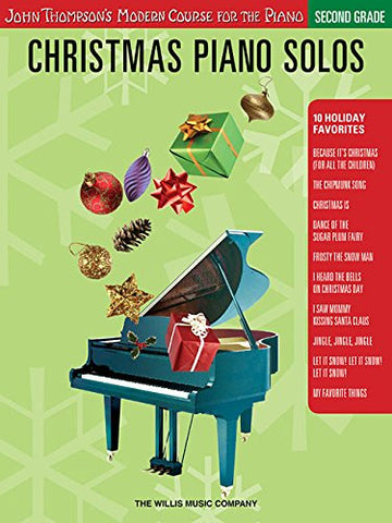 Christmas Piano Solos - Second Grade (Book Only): John Thompson'S Modern Course For The Piano (John Thompson'S Modern Course For The Piano Series)