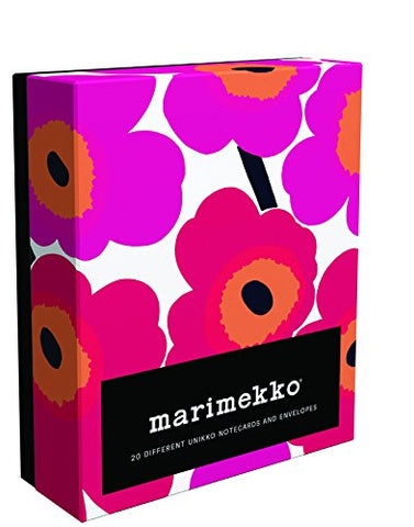Marimekko Notes: 20 Different Unikko Notecards And Envelopes