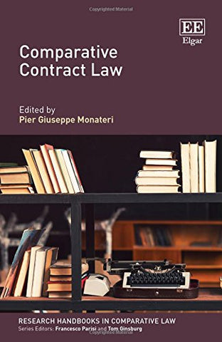 Comparative Contract Law (Research Handbooks In Comparative Law Series)