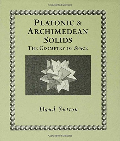 Platonic & Archimedean Solids (Wooden Books)