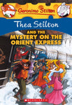 Thea Stilton And The Mystery On The Orient Express (Turtleback School & Library Binding Edition) (Geronimo Stilton)