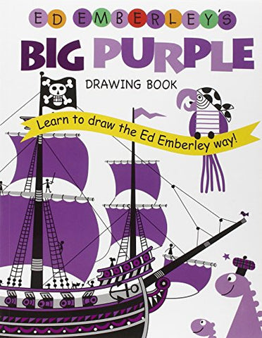 Ed Emberley'S Big Purple Drawing Book (Ed Emberley Drawing Books)