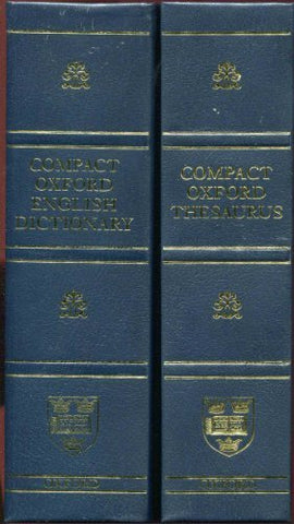 Compact Oxford English Dictionary (Third Edition Revised)