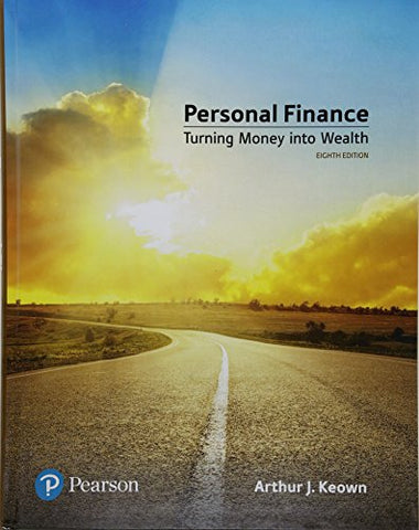 Personal Finance Plus Mylab Finance With Pearson Etext -- Access Card Package (8Th Edition) (Pearson Series In Finance)