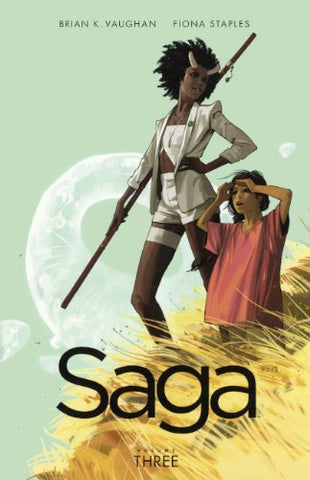 Saga, Vol. 3 (Turtleback School & Library Binding Edition)