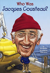 Who Was Jacques Cousteau? (Turtleback School & Library Binding Edition)