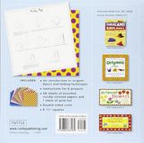 Origami Paper - Dots - 6 3/4 - 49 Sheets: Tuttle Origami Paper: High-Quality Origami Sheets Printed With 8 Different Patterns: Instructions For 6 Projects Included