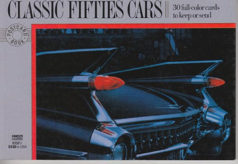 Postcard Books: Classic Fifties Cars