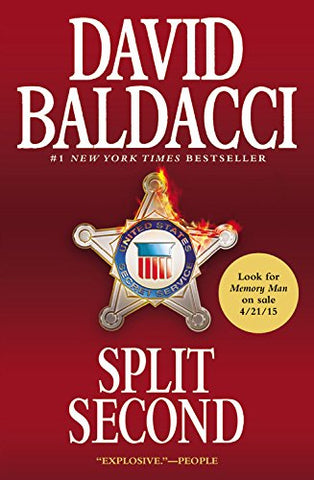Split Second (King & Maxwell Series)