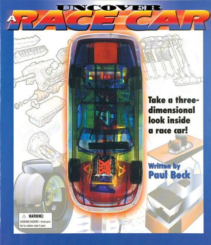 Uncover A Race Car: An Uncover It Book