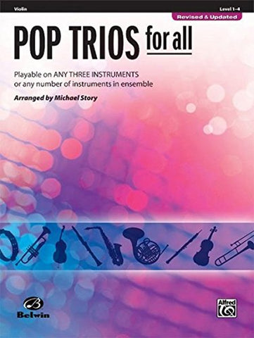 Pop Trios For All: Violin (Instrumental Ensembles For All)