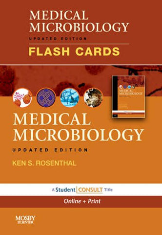 Medical Microbiology And Immunology Flash Cards, Updated Edition: With Student Consult Online And Print, 1E
