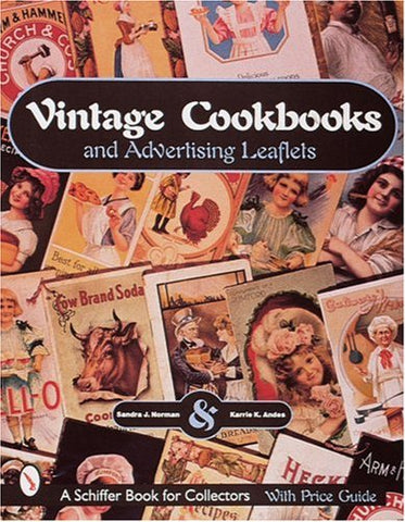 Vintage Cookbooks And Advertising Leaflets